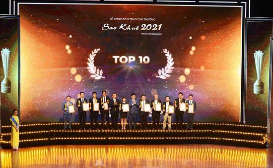 Vinh danh 180 giải pháp, dịch vụ công nghệ thông tin và top 10 Sao Khuê 2021
