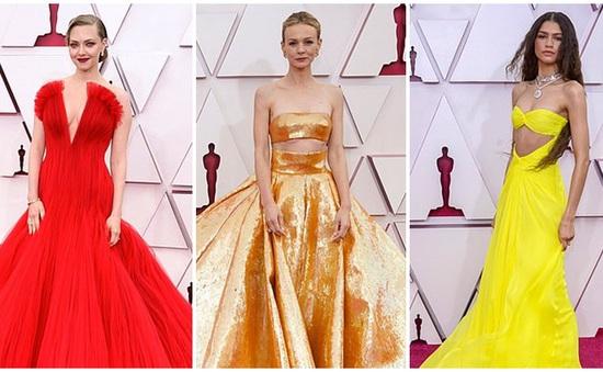Amanda Seyfried và công chúa Disney Zendaya chiếm spotlight thảm đỏ Oscar