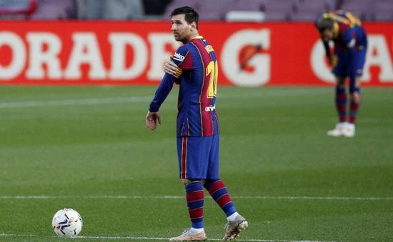 Messi ghi bàn nhưng Barca thất bại khó tin trước Granada