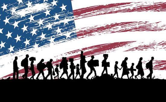 """""""Giấc mơ Mỹ"""" trở thành ác mộng bởi khủng hoảng dân nhập cư"""