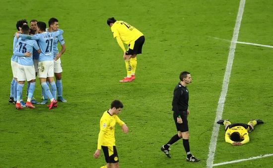 Man City thắng kịch tính Dortmund, đứng trước cơ hội lịch sử Champions League