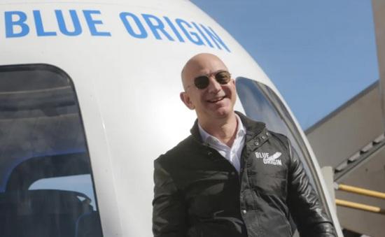 Tỷ phú Jeff Bezos sắp mở bán vé du lịch vũ trụ trên tàu New Shepard