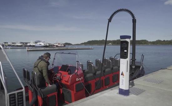 Sạc nhanh cho tàu thủy chạy điện