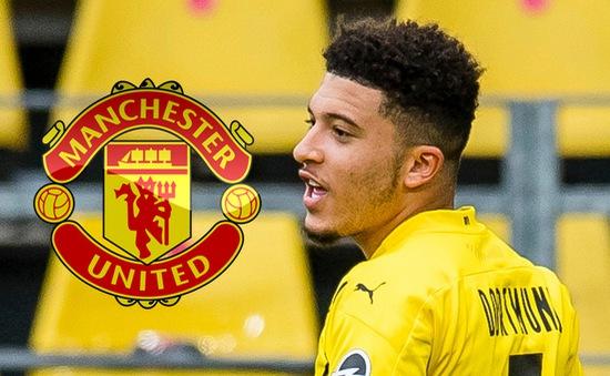 Man Utd muốn có Sancho ngay trước Euro 2020