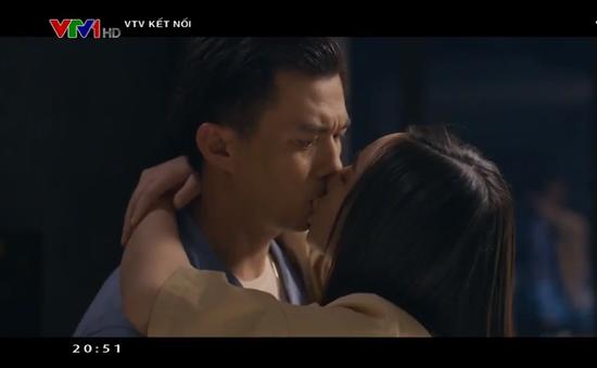 Quỳnh Kool bối rối khi đóng cảnh hôn với Hà Việt Dũng