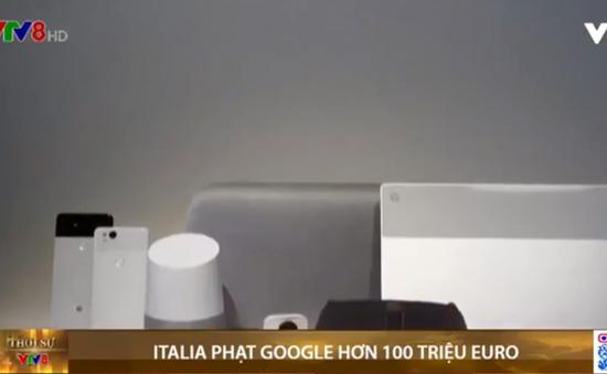 Italia phạt Google hơn 100 triệu euro