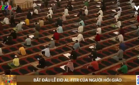 Người Hồi giáo trên khắp thế giới bắt đầu lễ Eid al-Fitr