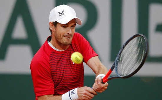 Pháp mở rộng 2021 sẵn sàng tạo cơ hội cho Andy Murray