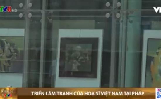 Triển lãm tranh của hoạ sĩ Việt Nam tại Pháp