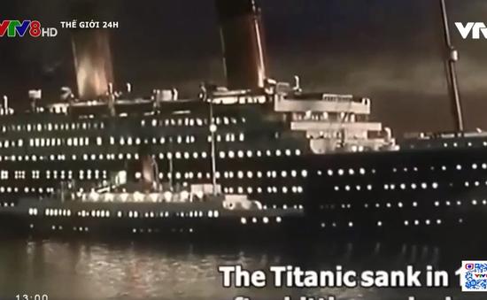 Trung Quốc dựng bản sao tàu Titanic làm điểm thu hút du lịch