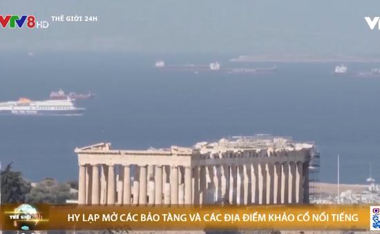 Hy Lạp mở các bảo tàng và các địa điểm khảo cổ nổi tiếng