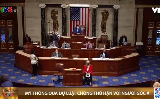 Quốc hội Mỹ thông qua dự luật chống thù hận đối với người gốc Á