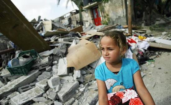 Cần khẩn cấp hỗ trợ nhân đạo cho 1 triệu trẻ em ở Gaza