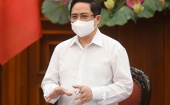 Thủ tướng Phạm Minh Chính: Tránh hoang mang, thiếu bản lĩnh khi chống dịch COVID-19