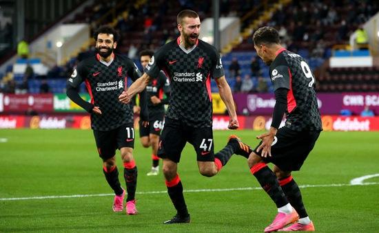 Thắng đậm Burnley, Liverpool tràn đầy cơ hội giành suất dự Champions League