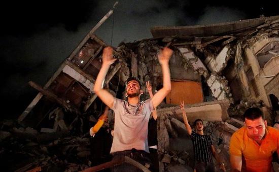 Người dân Dải Gaza vui mừng trước lệnh ngừng bắn