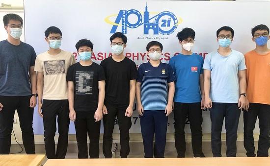 Học sinh Việt Nam đạt điểm cao nhất ở Olympic Vật lý châu Á - Thái Bình Dương 2021