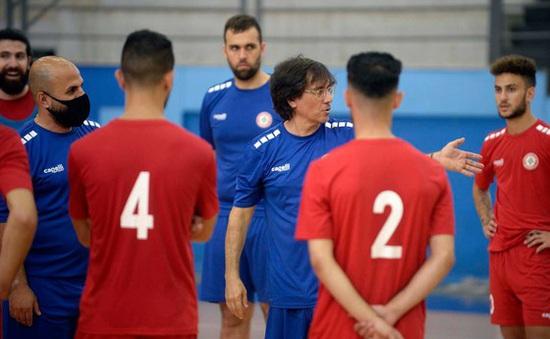 """HLV ĐT futsal Lebanon: """"Tôi hài lòng với những gì cầu thủ của mình đã làm được"""""""