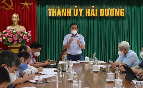Dịch COVID-19: Giãn cách xã hội ở mức cao hơn tại 10 phường của thành phố Hải Dương