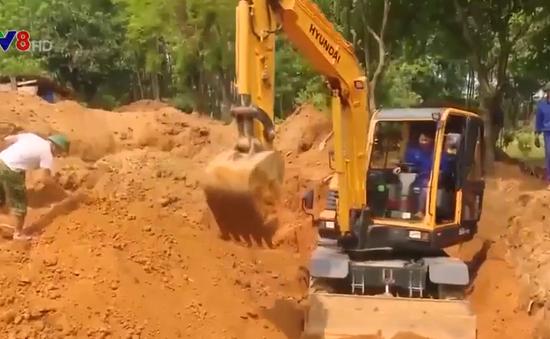 Phát hiện 40 hài cốt liệt sĩ trong mộ chôn tập thể