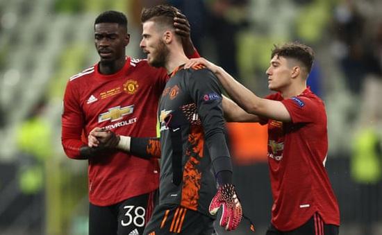 De Gea đá hỏng luân lưu 11m, Man Utd thất bại trong trận chung kết Europa League
