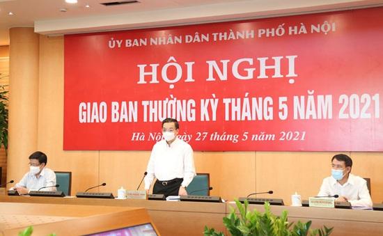 Hà Nội: Quyết tâm chiến thắng COVID-19, phấn đấu vượt chỉ tiêu tăng trưởng