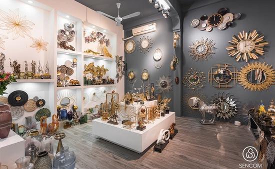 Sencom - Showroom decor trang trí nội thất nhập khẩu cao cấp, chính hãng