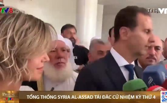Tổng thống Syria tái đắc cử nhiệm kỳ thứ 4