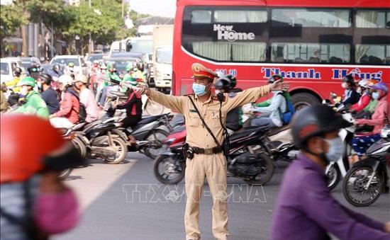 Ùn tắc giao thông tại khu vực cửa ngõ Thủ đô sau kỳ nghỉ lễ