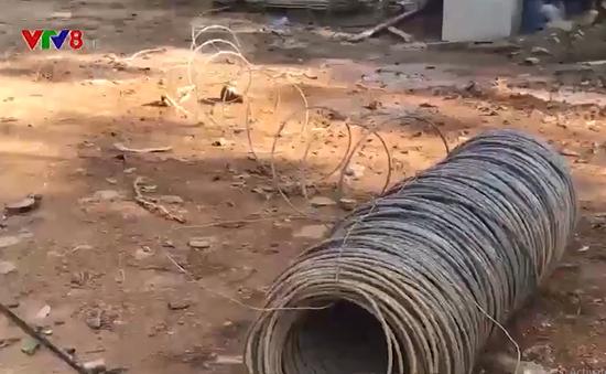 Quảng Ngãi: Xây dựng công trình xâm phạm rừng phòng hộ