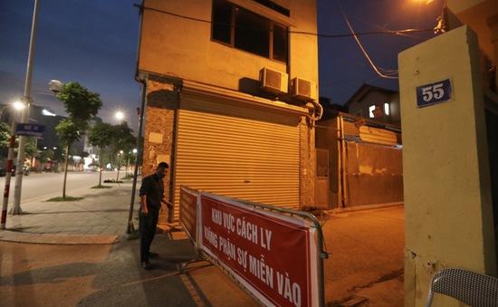 Hà Nội: Phong tỏa 1 ngõ ở Long Biên vì phát hiện ca dương tính SARS-CoV-2