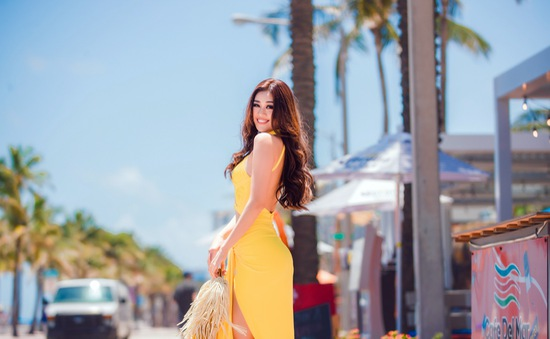 Khánh Vân đủ điều kiện thi Miss Universe sau khi kiểm tra COVID-19
