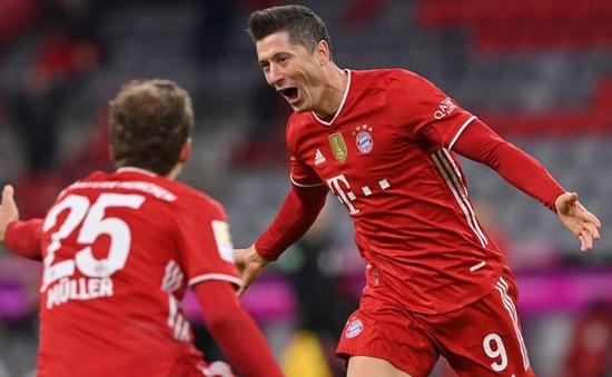 Bayern 6-0 M'Gladbach: Lewandowski lập hat-trick, Bayern thắng tưng bừng mừng chức vô địch