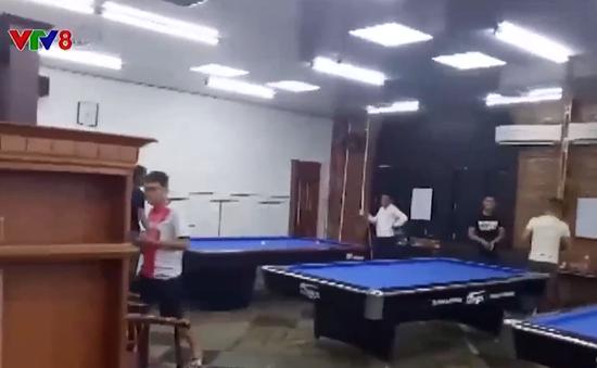Xử phạt quán billiard lén lút hoạt động giữa mùa dịch
