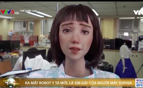 Ra mắt robot y tá phục vụ bệnh nhân mùa dịch
