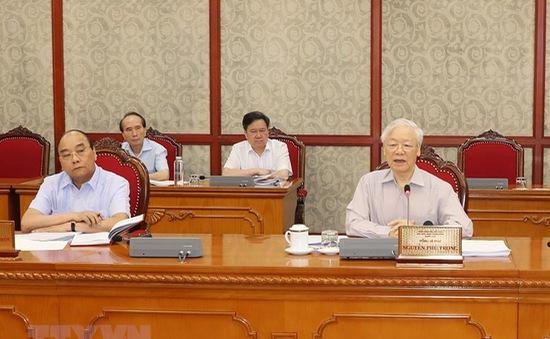 Bộ Chính trị đánh giá cao sự vào cuộc trên mọi mặt trận của toàn Đảng, toàn dân trong cuộc chiến chống COVID-19