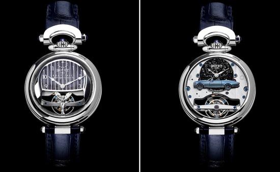 Mất 3.000 giờ để chế tác chiếc đồng hồ trên mẫu xe đắt nhất thế giới