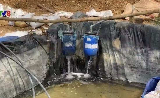 Quảng Nam: Rầm rộ khai thác vàng trái phép trên đất lâm nghiệp