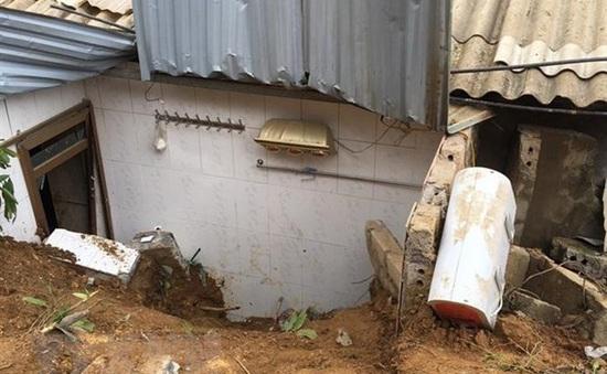 Sạt lở đất ở Yên Bái, một phụ nữ tử vong