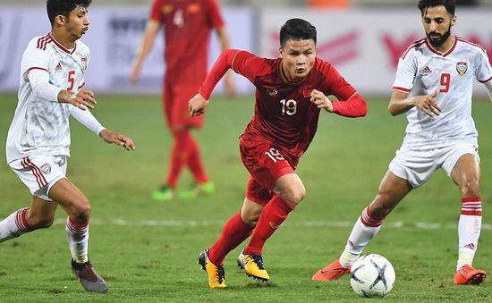 Đội hình ra sân ĐT Việt Nam gặp ĐT UAE: Quang Hải trở lại, Công Phượng, Văn Toàn dự bị
