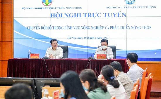 """Bộ trưởng Bộ NN-PTNT: Chuyển đổi số để không """"lỡ nhịp"""" đoàn tàu"""