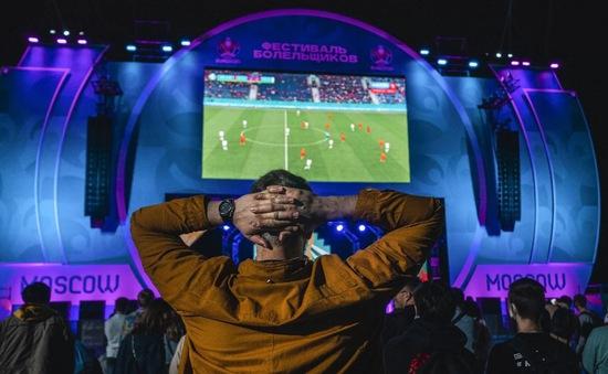 Moscow đóng cửa khu vực dành cho người hâm mộ EURO 2020