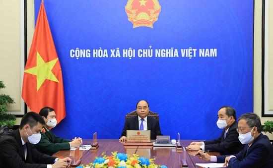 Chủ tịch nước Nguyễn Xuân Phúc điện đàm chúc mừng Tổng Thư ký Liên Hợp Quốc