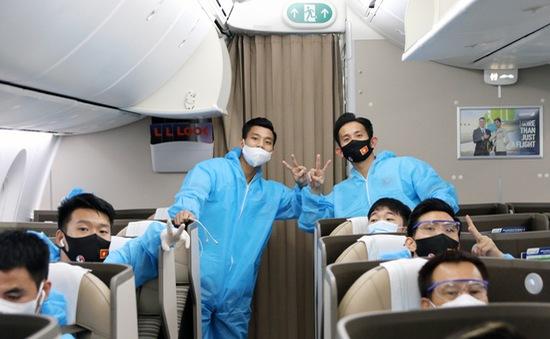 ĐT Việt Nam âm tính lần 1 với virus SARS-CoV-2