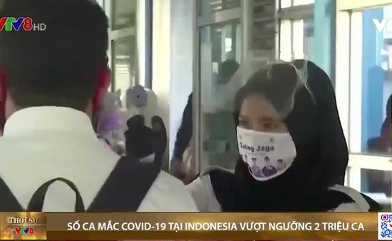 Số ca mắc COVID-19 tại Indonesia vượt ngưỡng 2 triệu ca
