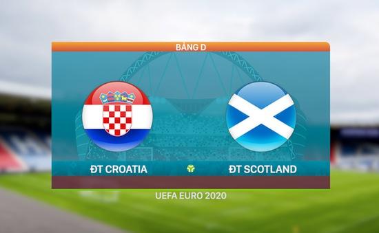 VIDEO Highlights: ĐT Croatia 3-1 ĐT Scotland   Bảng D UEFA EURO 2020