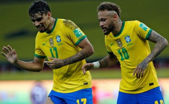 Neymar tỏa sáng, Brazil thắng nhọc Ecuador