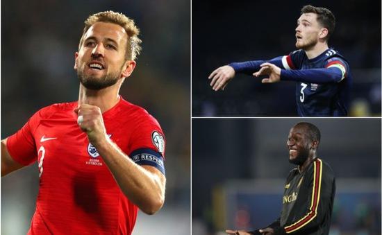 Lịch thi đấu giao hữu quốc tế đêm nay: ĐT Anh, ĐT Bỉ xuất trận