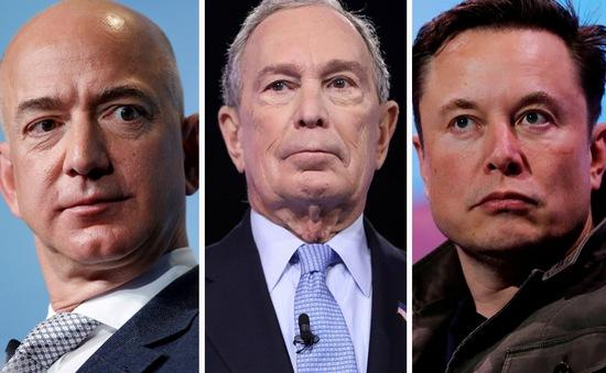 """Các đại tỷ phú Jeff Bezos, Bill Gates, Elon Musk... bị """"tố"""" nộp rất ít thuế"""