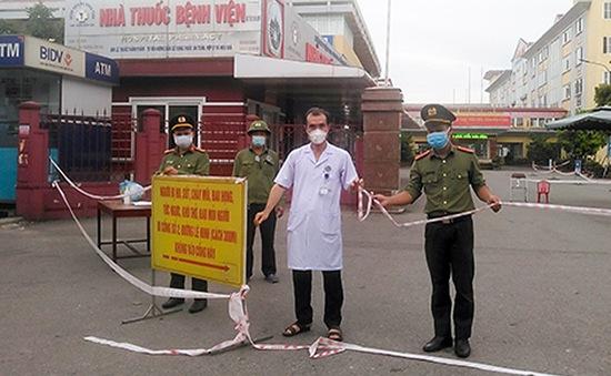 Sau 1 ngày phong tỏa, Bệnh viện Đa khoa Hà Tĩnh hoạt động trở lại